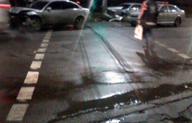 У Мелітополі в ДТП постраждали двоє людей