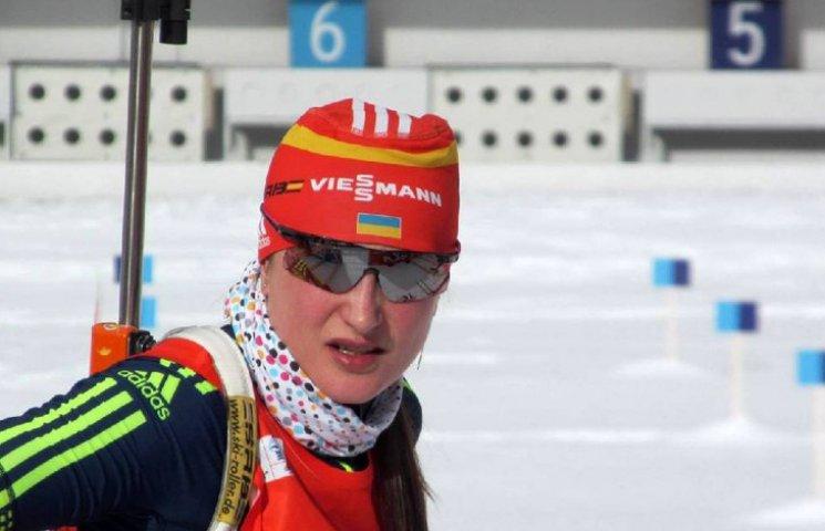 Біатлоністка збірної України з Сум попал…
