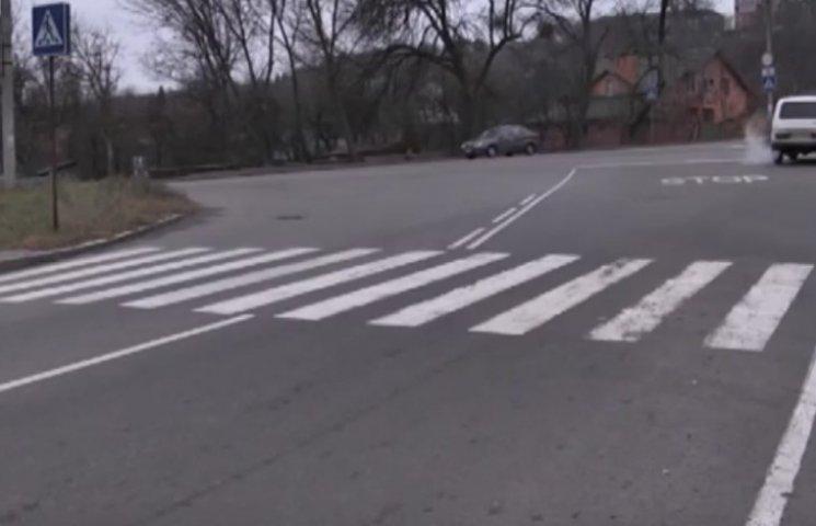 У Полтаві засобами безпеки обладнують найнебезпечніше перехрестя