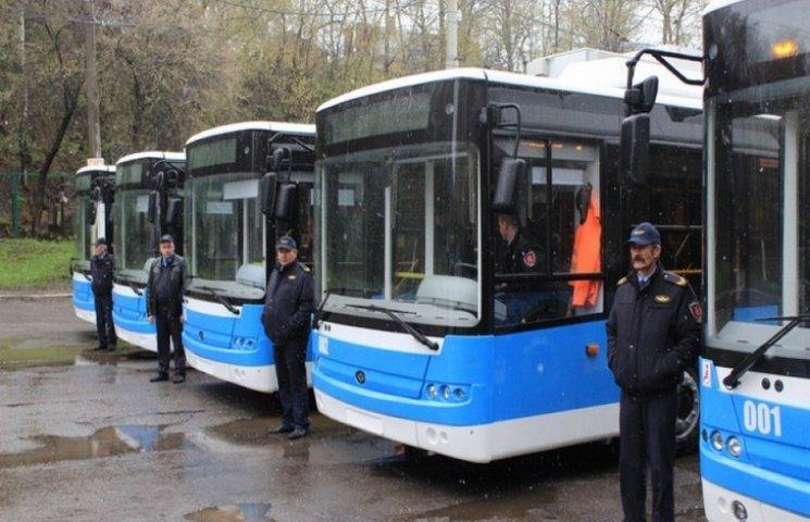 Вінниця планує закупити 40 тролейбусів в кредит