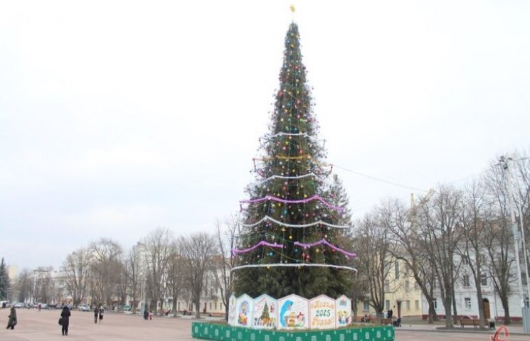 Хмельничани хочуть змінити Новорічну яли…