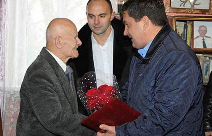 Винницкий ветеран органов внутренних дел отпраздновал 100-летний юбилей