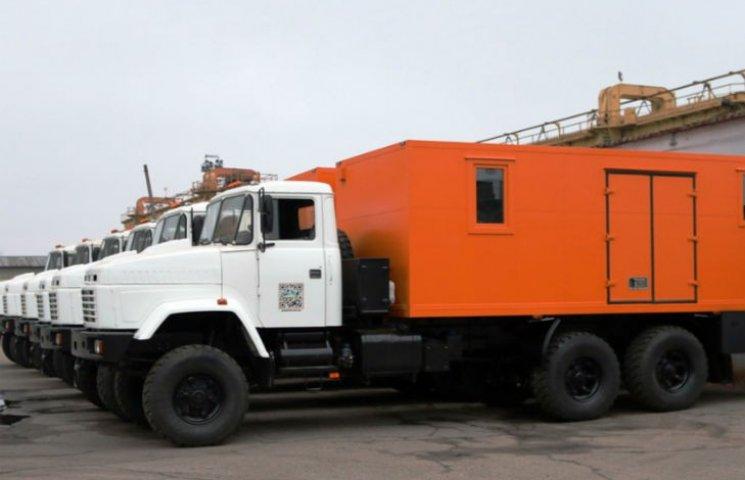 Новые спецгрузовики КрАЗ покоряют мир