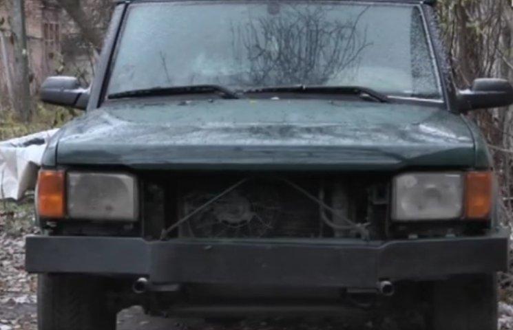 В Полтаве отремонтировали машину, которую в зоне АТО разбили оккупанты