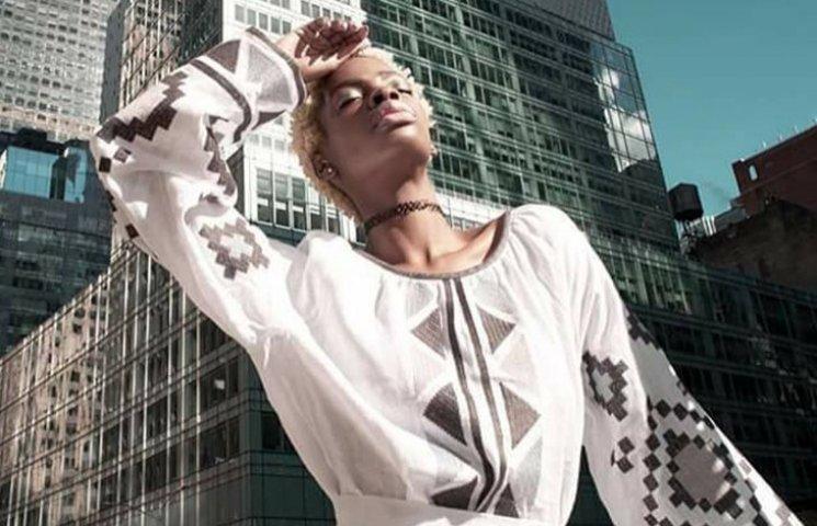 Як темношкіра американська модель козиряла вишиванками