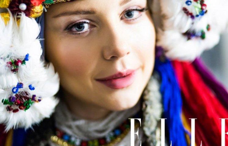 Тина Кароль надела старинный украинский свадебный наряд