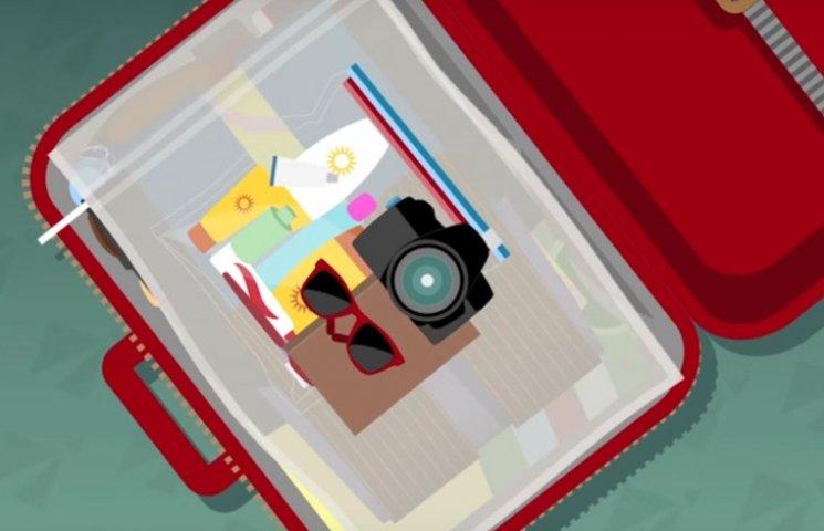Как быстро и аккуратно сложить вещи в чемодан