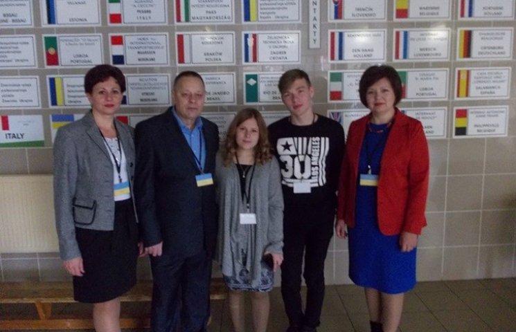 Студенти успішно виступили на олімпіаді з англійської мови у Словаччині