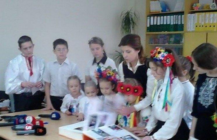 В Днипре жена Порошенко открыла секрет хранения вип-подарков
