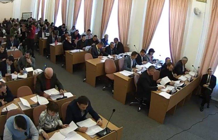 """""""Ширка"""" в Полтавском городском совете поставила решение вопросов на конвейер"""
