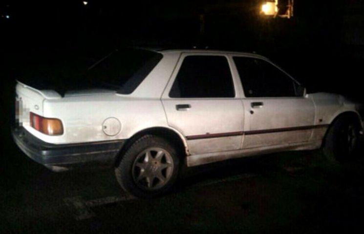 В Полтаве полицейский патруль обнаружил автомобиль-двойник