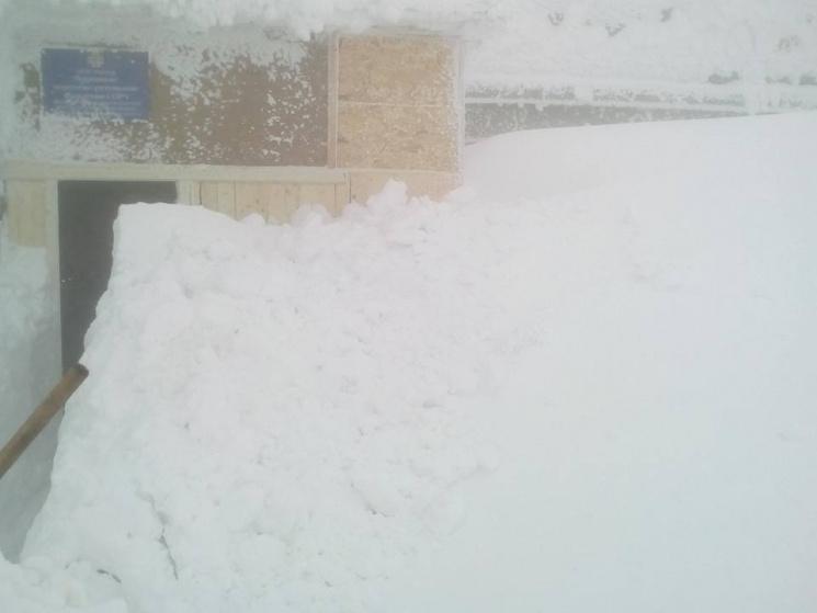 Зима на Закарпатті: гора Піп Іван