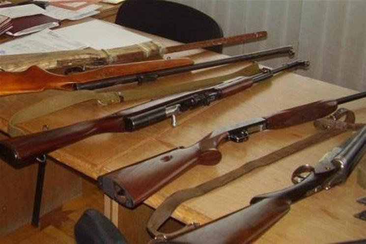 НаПолтавщині оголосили результати «Місячника добровільної здачі зброї»