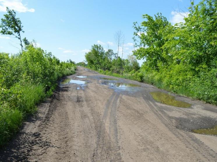 На Полтавщині почали ремонт дороги Комишня – Остапівка, фото-1