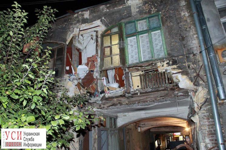 В Одесі на Молдаванці обвалився сторічний житловий будинок