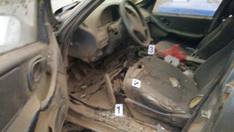 ВОдеській області вибухнув автомобіль, водій загинув