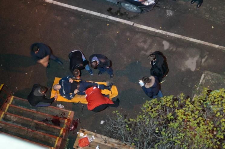 """Появились фото и видео с места """"боестолкновения"""" полиции и преступников в Днипре"""