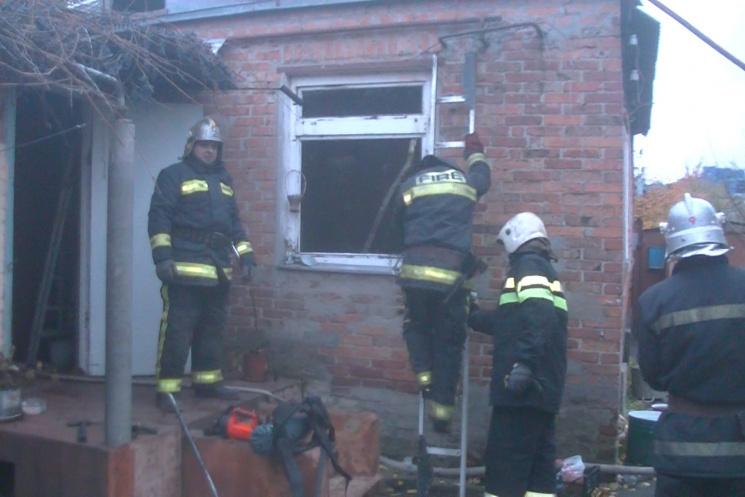 ВХарькове вовремя пожара в личном  доме погибла женщина
