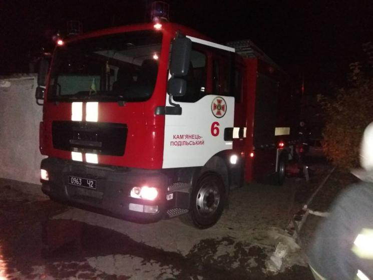 УКам'янці-Подільському пожежники врятували 150 дітей-інвалідів зпалаючого гуртожитку