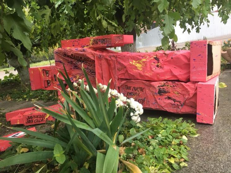 Около Дома профсоюзов вОдессе прохожие обнаружили подозрительные предметы