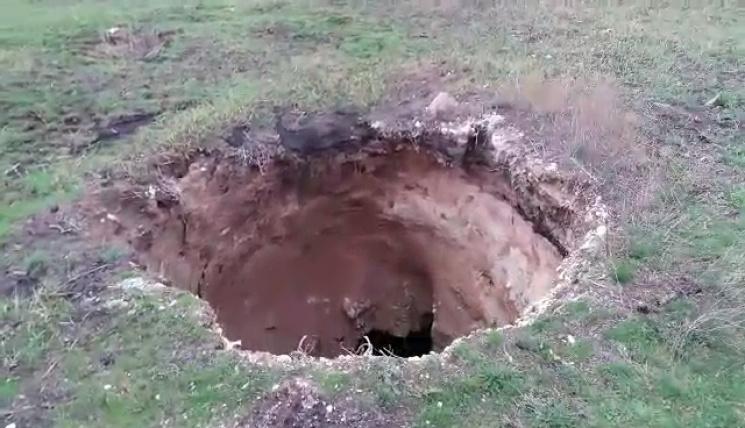 НаДонеччині обвалилася земля наглибину 15 метрів