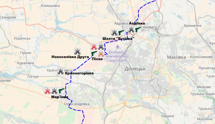 Минулої доби окупанти насході України здійснили 18 обстрілів, поранено одного захисника