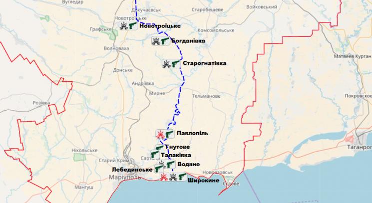 Бойовики із мінометів тагранатометів обстріляли сили АТО— штаб