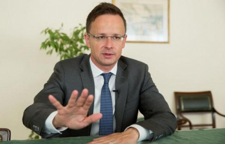 Венгрия обратилась кпослу государства Украины из-за сорванного вЗакарпатье флага