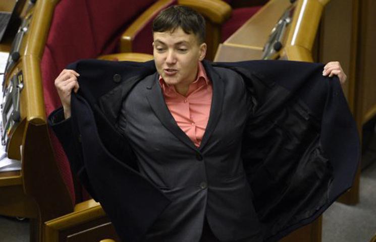 Відео дня: Танці Савченко і дитячий вірш для Путіна
