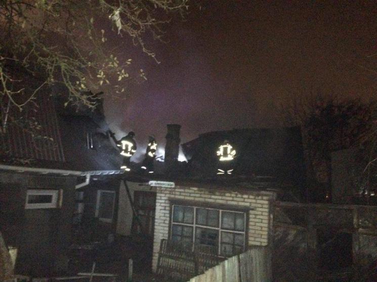 Уцентрі Вінниці сталася велика пожежа