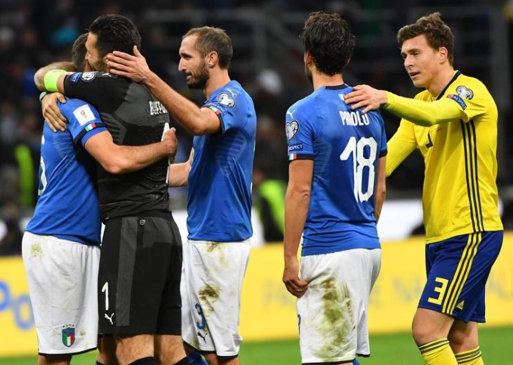 Буффон та ще три футболіста збірної Італії завершили міжнародну кар'єру
