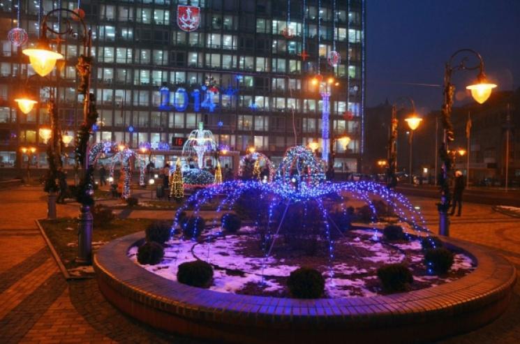 У Вінниці витратять мільйон на створення новорічної атмосфери
