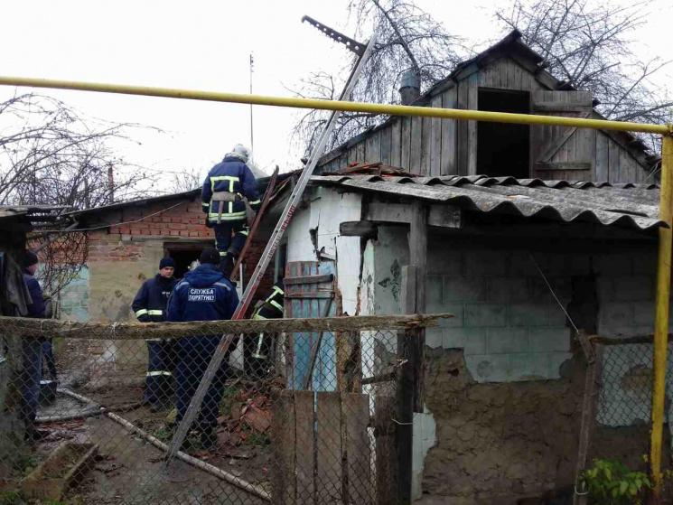 На Вінниччині у приватному будинку згорів чоловік
