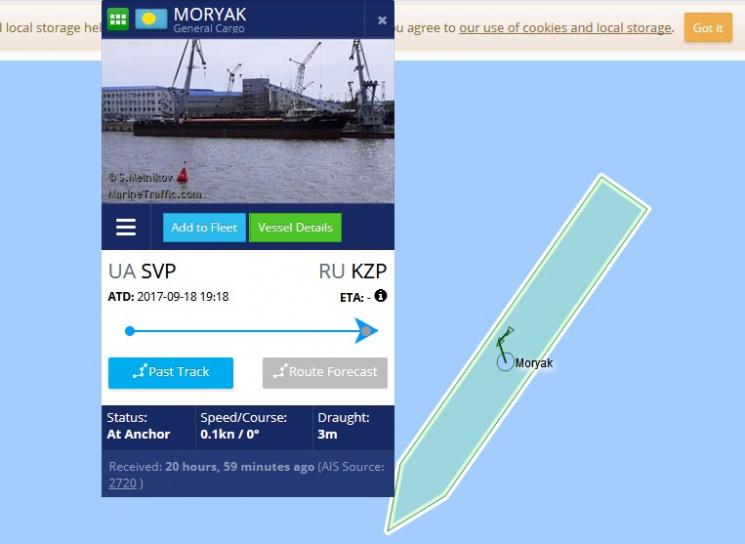 Сухогруз «Моряк» сголодающим экипажем пропустили вКерченский порт— РФ спасла