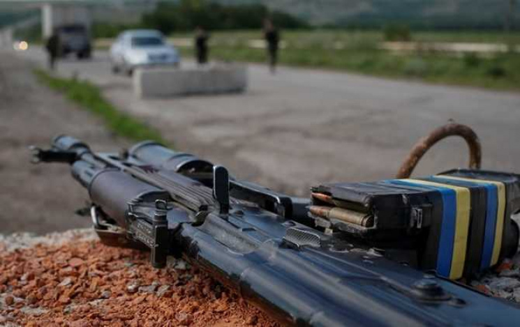 УПопасній військові вистрілили впенсіонерку