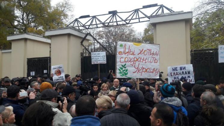 Одесситы взяли штурмом Летний театр (ФОТ…