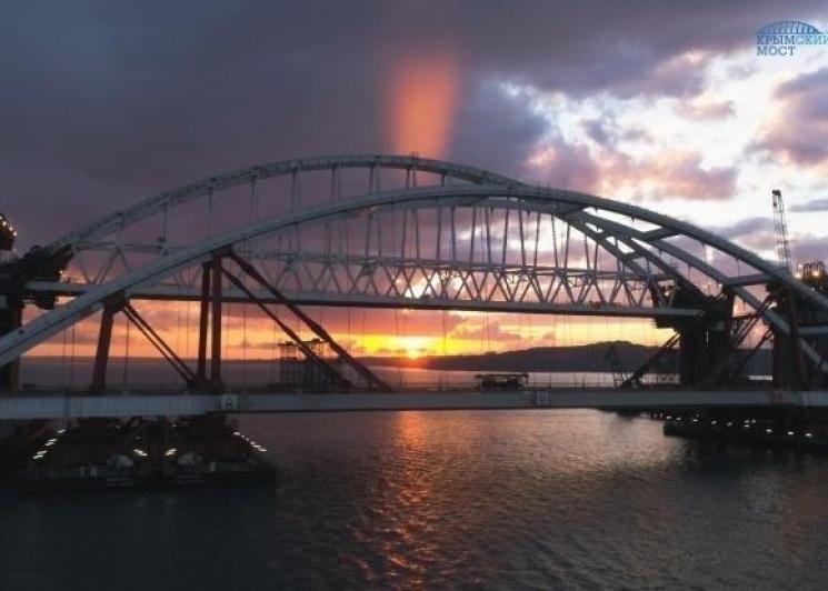 ВКрыму посоветовали новое название для моста через Керченский пролив
