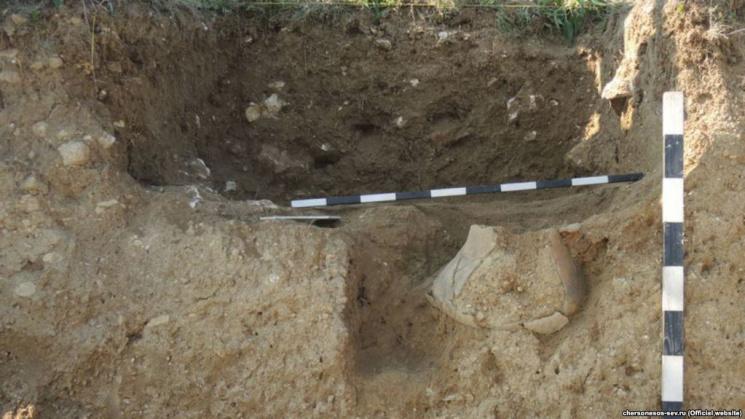 Окупанти вихваляються відкопаною у Криму садибою часів Римської імперії