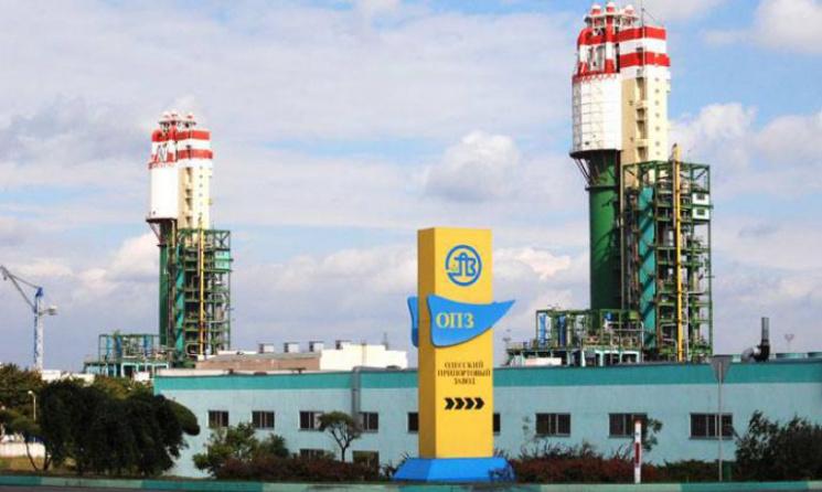 Одесский припортовый завод останавливался из-за серьезной поломки