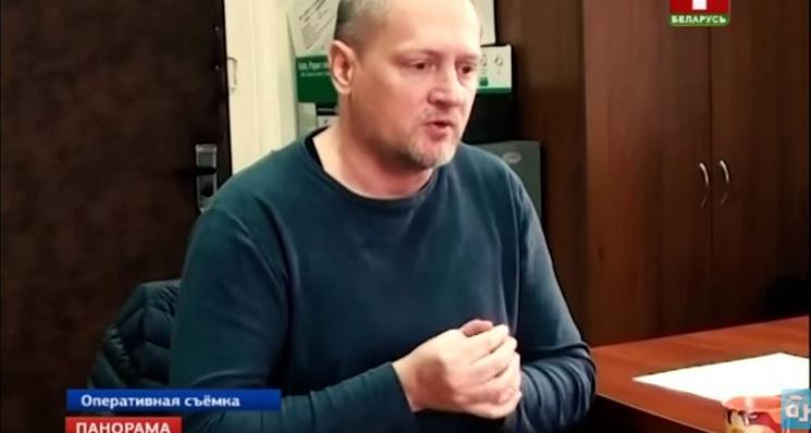 З'явилося відео допиту українця Шаройка, затриманого в Білорусі