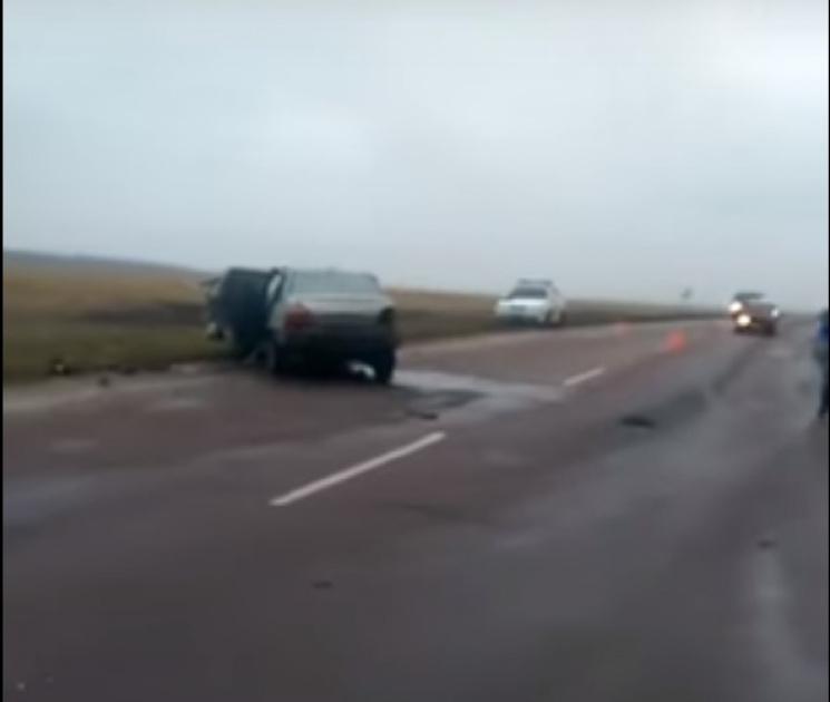 З'явилось відео масштабної аварії на Сумщині