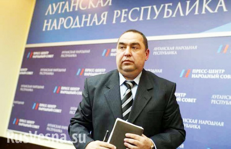 Бунт проти Плотницького: центр Луганська захопили люди звільненого «міністра»
