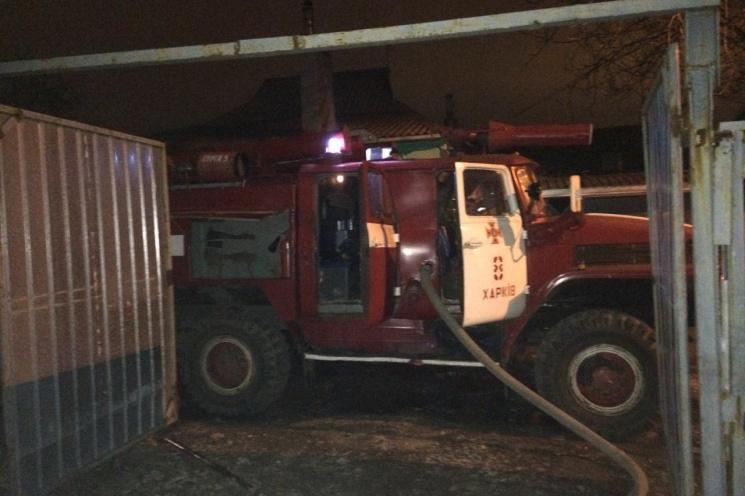 Пожар вХарьковской области: cотрудники экстренных служб отыскали обгоревшее тело