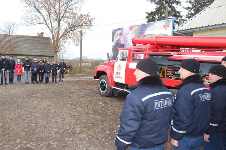 Рятувальники на Старокостянтинівщині отр…