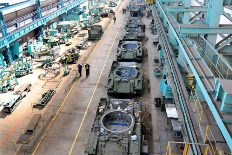 Україна постачатиме деталі дотанків Т-72 в Європу