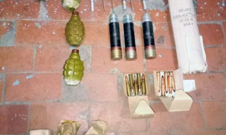 НаДонетчине 16-летняя девушка носила при себе гранату «оберег»