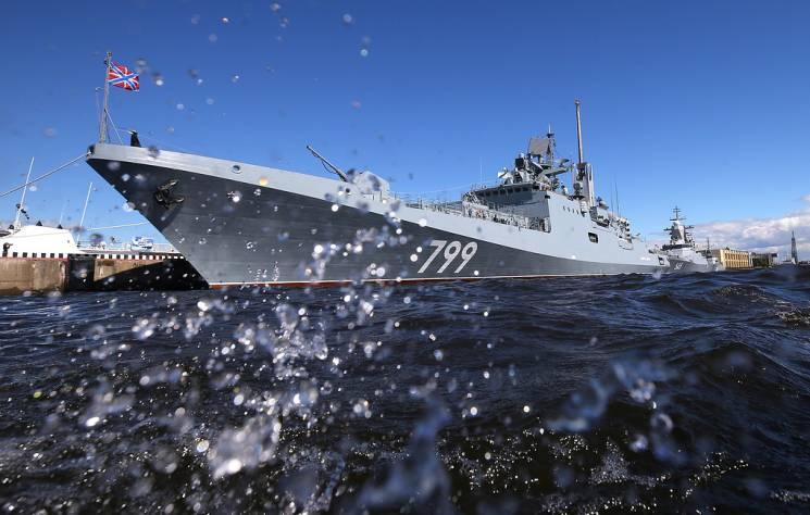 Росія відправила корабель з крилатими ракетами з окупованого Криму до Середземномор'я