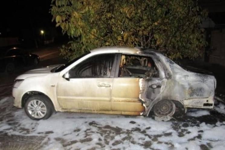 Мешканець Тимашевську підпалив п'ять автомобілів