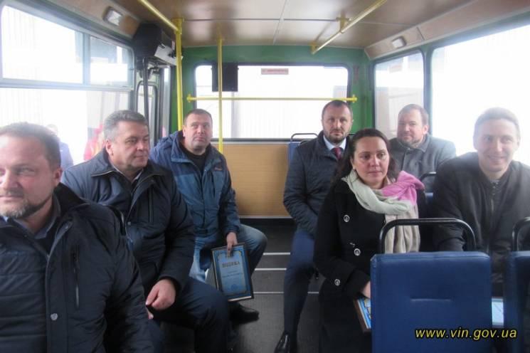 На Вінниччині ОТГ має власний автобус (ФОТО)