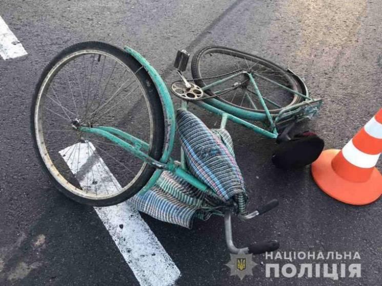 На Полтавщині водій мікроавтобуса збив велосипедистку, жінка померла у лікарні (ФОТО)